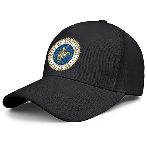 Personalized Snapback hat for Men City of Scottsdale Arizona dad Hats Baseball Cap Unisex Adjustable Ball caps