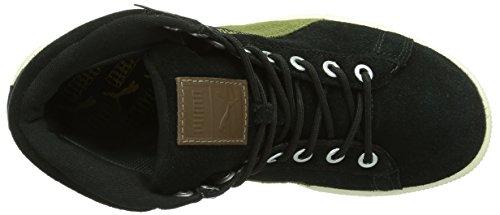 Puma Suede Mid Classic+ Gtx®, Baskets hautes mixte adulte Noir - Schwarz (Black 02)