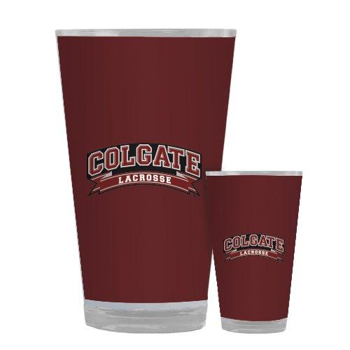 Colgate Full Color Glass 17oz 'Lacrosse'