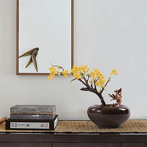 CITW Simple Art Yellow Fruit Tree Bonsai Bonsai Desktop Ornaments Modern Minimalist Home Furnishing OrnamentsOffice Gift by CITW (Image #1)