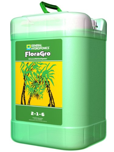 General Hydroponics FloraGro, 6 Gallon