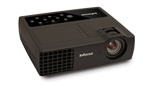 InFocus IN1118HD 1080p DLP Portable Projector, HDMI, 3.5 lbs, 4GB Storage, 2400 Lumens