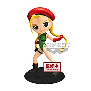 41qSIqcfwYL. SS300 Banpresto Street Fighter Series Q Posket-Cammy-(Ver.A), Multiple Colors