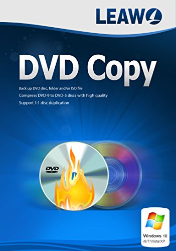 Best DVD Copy Software, DVD Cloner, DVD Backup, 1:1 Copy DVD to Hard Drive, Copy DVD to DVD Disc, Copy DVD to Computer in High Quality for Windows. (1 Year) (Cloner Dvd)