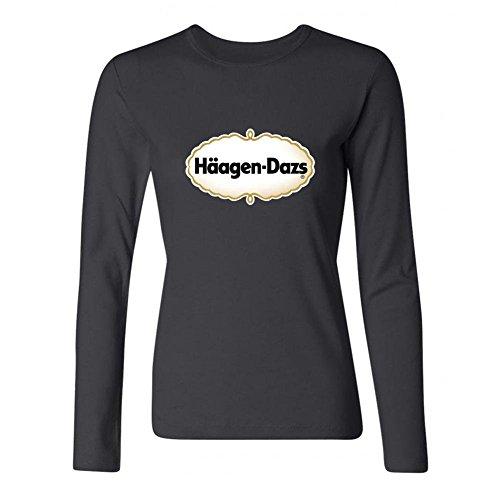 chengxingda-womens-haagen-dazs-logo-long-sleeve-t-shirt