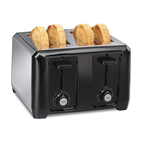 Hamilton Beach 24671 Extra-Wide Slot Toaster with Shade Selector, Auto Shutoff, Cancel Button Toast Boost, Stainless…