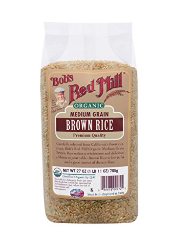 Organic Medium Grain Brown Rice (27 Ounce)