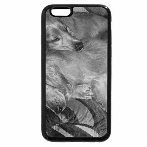iPhone 6S Plus Case, iPhone 6 Plus Case (Black & White) - It's a dog's life!!!