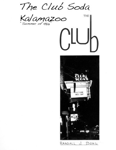 The Club Soda, Kalamazoo: The Club
