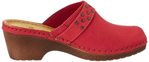 Bout Sandales 500 Femme Ouvert 27304 red Jana Rouge Tq5wEA