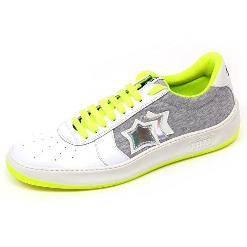 D0916 sneaker uomo ATLANTIC STARS DRAKET VBFMTE93 scarpa bianco/grigio shoe man [40]
