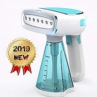 Keiyaloe Steamer for Clothes Mini - Portable, Handheld...