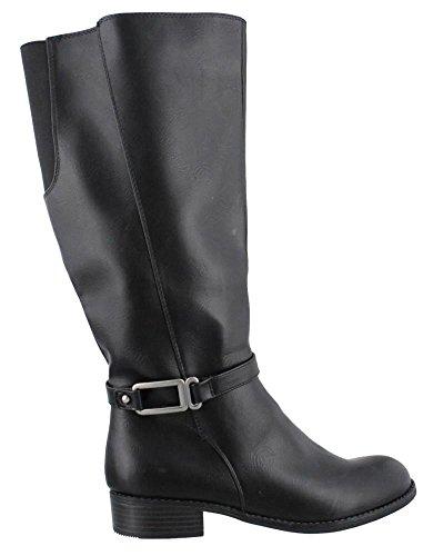Lifestride Womens, Santino Chaussures À Tige Large Noir