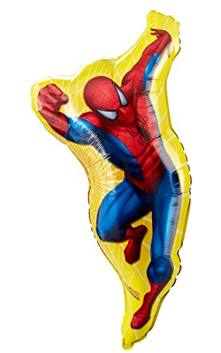 Spider-Man Shaped Jumbo Foil Balloon - size 38 inch - Foil Giant Balloon Shaped