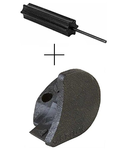 SAF-T-BLOK 70121 Glock RH Right Hand Safety Block Black POST After 1998 Glock Models 17 19 20 21 22 23 24 29 30 31 32 34 35 37 38 39 41 + Ultimate Arms Gear 3/32 Punch Armorers Gunsmith Tool