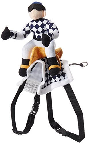 Zack & Zoey Show Jockey Saddle Dog Costume, Large]()