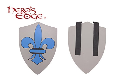 SwordMaster - Thick Foam Medieval Royal Crusader Foam Shield for Cosplay and Larp Brand New (Medieval Foam Larp Shield)