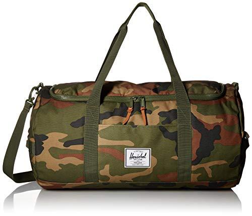 Herschel Supply Co. Sutton Duffel Bag, Woodland Camo, One Size
