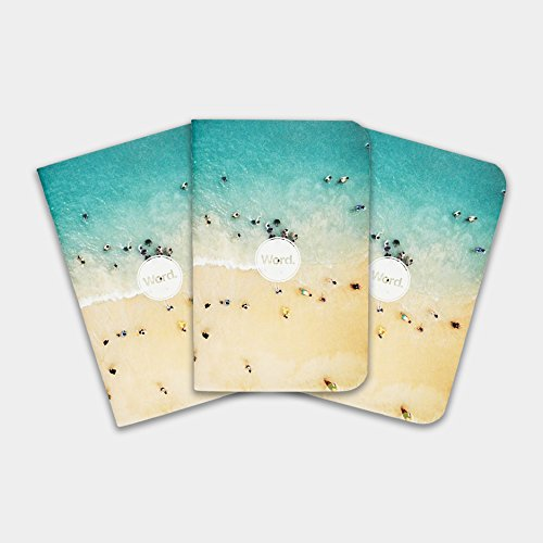 Word. Notebooks - Limited Edition Pocket Notebooks (Beach)