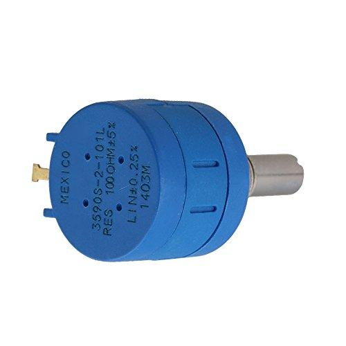 100-10 kohm Réglable Résistance Wire Plaie Multi Turn Précision Potentiomètre Pot