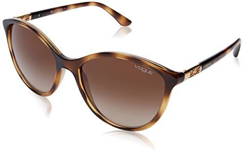 VOGUE 0Vo5165S Gafas de sol, Dark Havana, 55 para Mujer