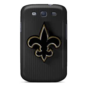 Protective Hard Phone Covers For Samsung Galaxy S3 (grI12989OqKv) Provide Private Custom Stylish New Orleans Saints Skin