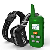 TBI Pro [All-New 2019] Dog Shock Training Collar with Remote | Heavy-Duty, Long Range 2000 ft, Rechargeable & IPX7...