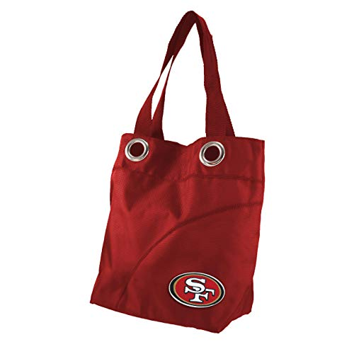 NFL San Francisco 49ers Color Sheen Tote