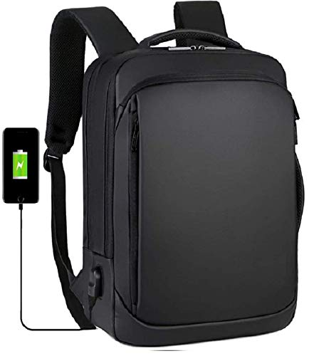 GOCART WITH G LOGO Laptop Backpack Casual Daypacks Briefcase Convertible Business Travel Rucksack with USB Charging Port…