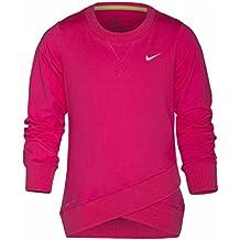 NIKE Little Girls' Dri-FIT Crossover Long-Sleeved Sweatshirt Size 4T