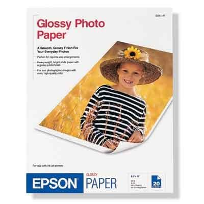 New - Photo Paper Super B 20 pk by Epson America - - Epson Photo S041143 Paper