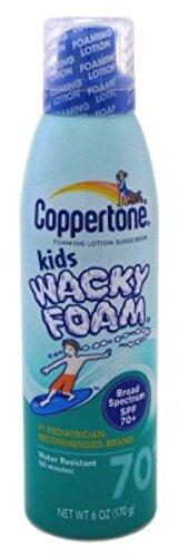 coppertone-spf70-kids-wacky-foam-6-ounce-177ml-3-pack