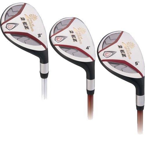 2 EZ Golf Club Hybrids 18-21-24 MRH Graphite Regular Flex, Outdoor Stuffs