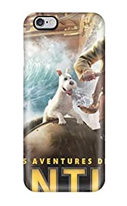 2091303K61484828 Hard Plastic Iphone 6 Plus Case Back Cover,hot Tintin In French Case At Perfect Diy
