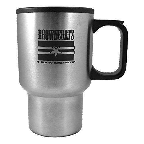 - 14oz Browncoats Travel Mug Tumbler with Handle L1