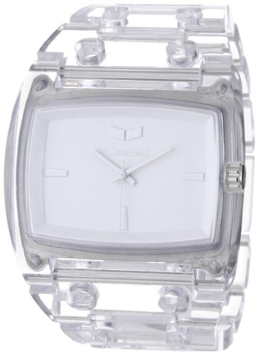 Vestal Men's DESP024 Destroyer Plastic Clear White Watch