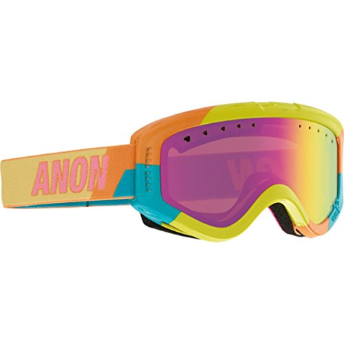 Anon Tracker Goggles Fresh/Pink Amber Lens - Goggle Anon Tracker