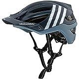 2018 Troy Lee Designs A2 MIPS Starburst Bicycle Helmet-Silver-M/L