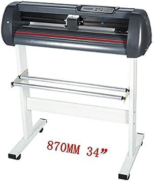 870mm Vinilo Cortador Letrero Corte Plotter 86.4cm Fabricante Manualidades: Amazon.es: Electrónica