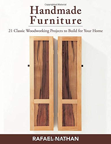 Handmade Furniture: 21 Classic Woodworking Projects to Build for Your Home Paperback – May 20, 2014
