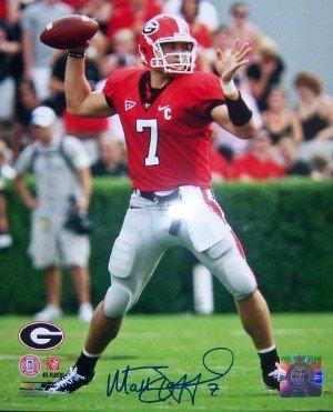 (Matthew Stafford Signed Autograph Georgia Bulldogs 8x10 Photo )