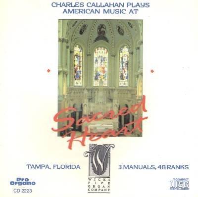 Charles Callahan Plays American Music At Sacred Heart, Tampa Florida