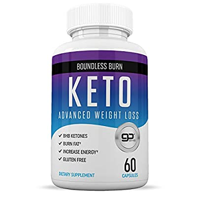 Keto Pills from Shark Tank - Get Into Ketosis Quicker - Weight Loss Supplements for Women & Men - Appetite Suppressant - Carb Blocker - 60 Capsules