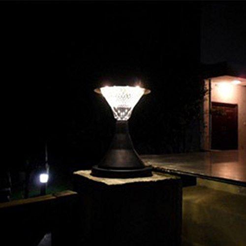 Solar Powered Pillar Lights - 9