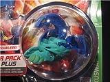 Bakugan Battle Brawlers B2 Bakuswap Legendary Series: B2 Blue/Green Wavern Booster Pack with Random Gate and Ability Card