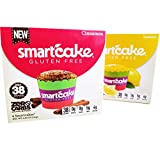 LEMON SMARTCAKE AND CINNAMON SMARTCAKE BUNDLE: GLUTEN FREE, SUGAR FREE, KETO FRIENDLY, LOW CARB SNACK CAKES: 4 packs (8 individual cakes)