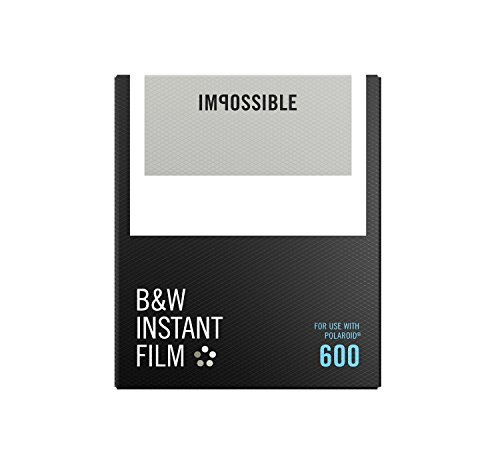 The Impossible Project Black and White 2.0 Film for Polaroid