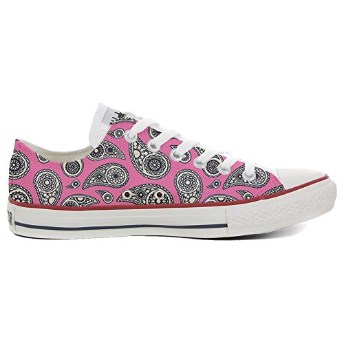 Paisley Slim Floral Customized Schuhe Schuhe All Personalisierte Handwerk Converse Star SwzAnHqH