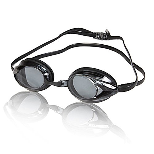 - Water Gear Diopter Goggles, Smoke, 5.0