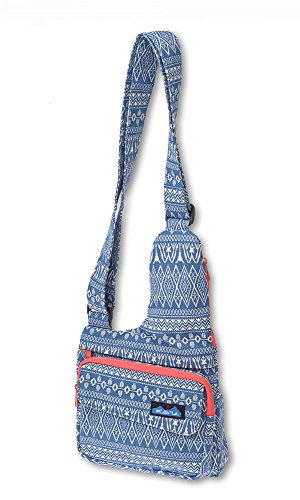 KAVU Women's Seattle Sling Bag, Blue Blanket, One Size